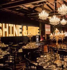 Shine & Dine Event 2015 by StarLight Chandeliers