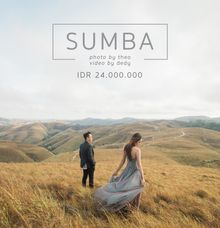 Pre-wedding package for SUMBA by Kinema Studios