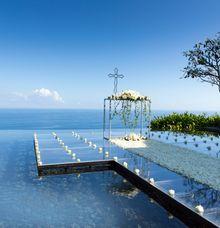 THE BVLGARI WATER WEDDING by Bulgari Resort Bali