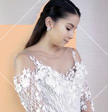 CosmoPH Shoot - 6 Wedding Dress Necklines That Arent The Usual Strapless Style by Paoie Minerales Hair & Makeup