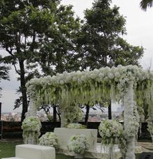 Outdoor Wedding by JW Marriott Hotel Surabaya