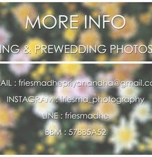 Info Pricelist Photoshoot by Friesma Photography