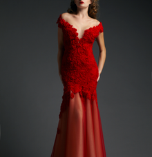 ROSE RED by Ann Teoh Couture