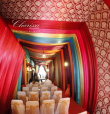 Colorful Tent by Charissa Event & Wedding Decoration