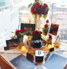 Maissie romantic dinner by Buttercup Decoration