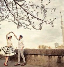WHITE BLACK SKIRT by Klanning Prewedding