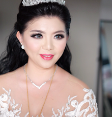 make up for Miss jessica by Agnes Yosi Make Up Artist