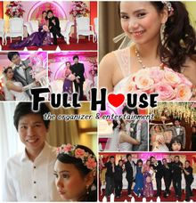 the wedding of Alan & Tiny - 24 Mei 2014 by Full House the organizer & entertainment