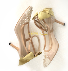 Custom Jeannie by Alexa Wedding Shoes