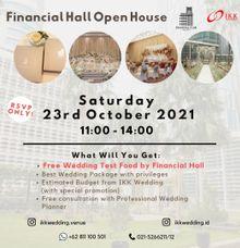Financial Hall Open House by IKK Wedding Venue