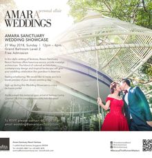 Amara Sanctuary Resort Wedding Open House - May 2018 by Amara Sanctuary Resort Sentosa