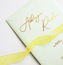 Athaya & Reksa Wedding Invitation by Gifu Invitation & Souvenir