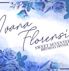 Ivana Florencia Sweet 17th Digital Invitation by Invitation by Pipin