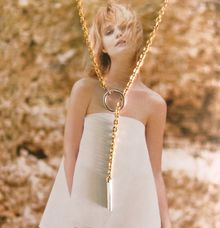 Adele - Custom 18ct Fine Gold Necklace by AEROCULATA