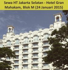Sewa HT (Handy Talky) at Hotel Grand Mahakam by Handy Talky Rental bbcom