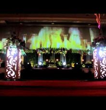 traditional Wedding Video Mapping by D n A Decoration