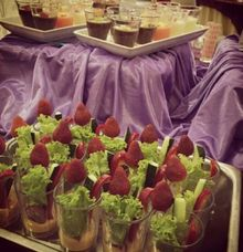 Veggie Glass by Yufeto Catering by Yufeto Catering