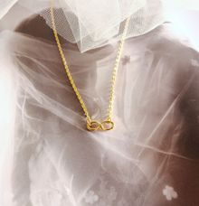 Alhan - 18ct Gold Infinity Knot Necklace by AEROCULATA