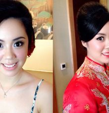 Mabel Chan Wedding by Cindy Lin Make Up Artist