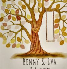 Eva & Benny by Wedding Fingerprint Indonesia