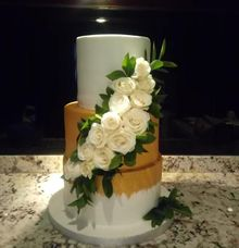 Wedding Cake Project at Bayan tree Resort bali by Henny Cookies and Cakes, Bali