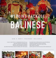 Balinese Wedding Package by Nagisa Bali