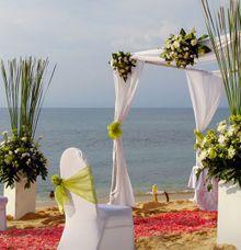 Lavish Love Package - Beach Wedding (Rp. 40,000,000 nett) by TANADEWA VILLAS AND SPA, NUSA DUA