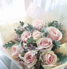 SilverDust bouquet by SilverDust Florist