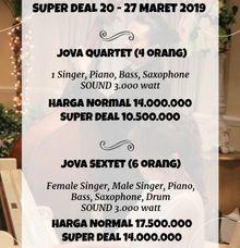 SUPER DEAL 20-27 MARET by Jova Musique