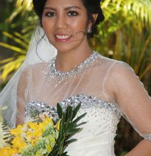 Faye Echalico - Yuri Allen Danlog Wedding by Magic Touch by Klick Victoria