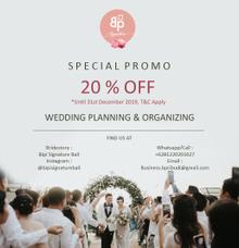 SPECIAL PROMO TILL DEC 2019 by Bipi Signature Bali