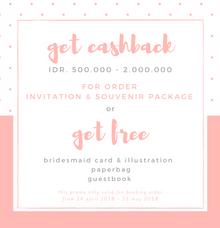 Cashback promo by Book.Idea