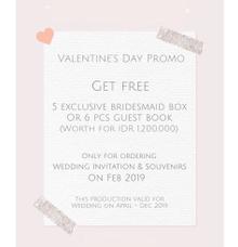 Valentine's day promo by Book.Idea