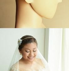 Side Accent Bridal Headband by Bride Of Marc