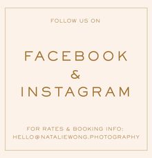 Follow us by Natalie Wong Photography