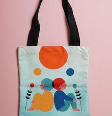 Full print tote bag by Sagu Hati