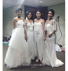 Renzi Lazuardi Fashion Show by Nefrin Fadlan for brideseries wedding shoes