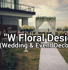 balangan beach wedding by W Floral Design (wedding & event decoration) in Bali
