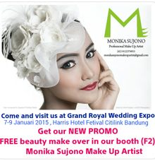 Promotion by Monika Sujono Make Up Artist