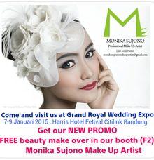 Promotion by Monika Sujono Make Up Artist