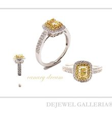 Canary Love by Dejewel Galleria