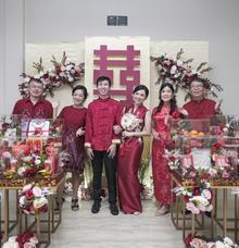 Sangjit Ceremony of Henry & Martheana by Castle Wedding Planner & Event Organizer