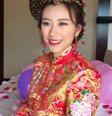 Chinese Traditional MakeUp HairDo for Tea Ceremony by Carmelia & Team Make Up Artist