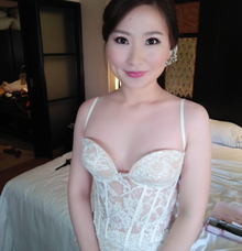 Flawless Make Up, Stunning Bride by Carmelia & Team Make Up Artist