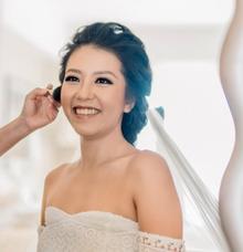 Gorgeous Bride  by Carmelia & Team Make Up Artist