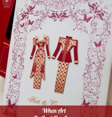 Traditional Javanese Wedding Dresses Invitations by Azka Gallery