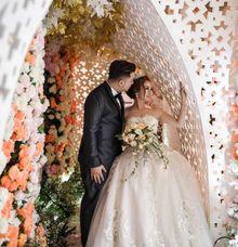 The Wedding Of Billy & Tirza by Yumi Katsura Signature