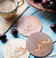 LOVEBIRDS COASTER by rasacinta