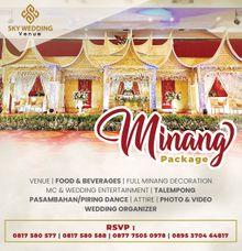 Minang Wedding Package by Sky Wedding Entertainment Enterprise & Organizer