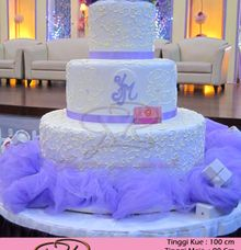 wedding cake by RR CAKES